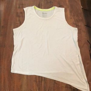 Nike Tops - Nike Dri-Fit Loose Fit White Workout Top